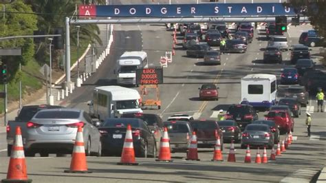 dodger stadium traffic