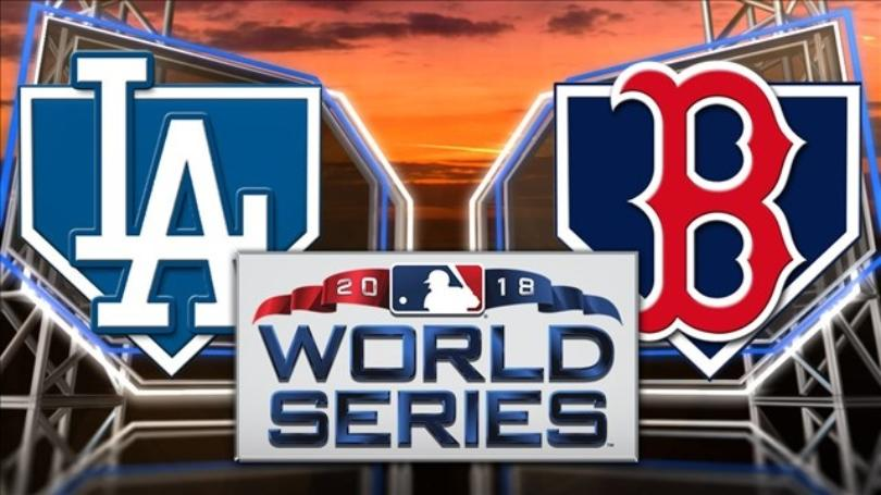 dodgers+red+sox+world+series